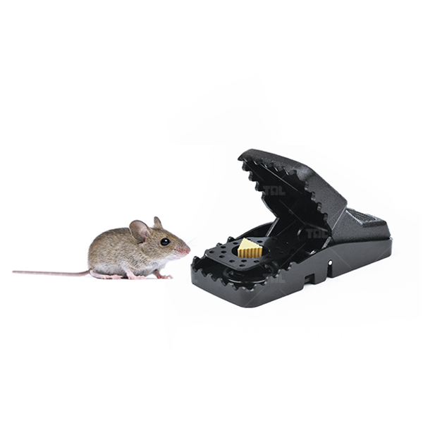 Automatic Easy-Set Sanitary Rat Snap Trap Mouse Spring Trap (TLPMT0302)