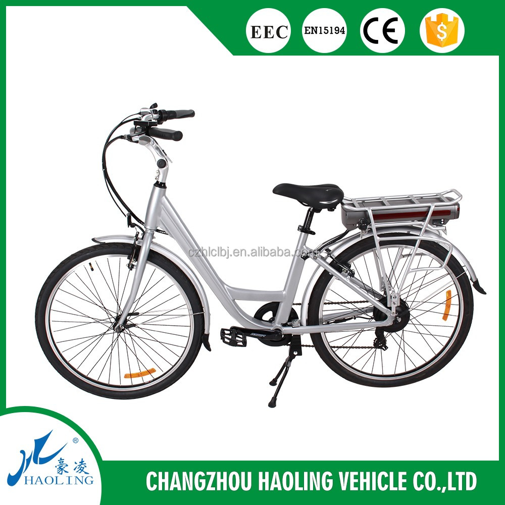 36v 12ah Europe Style electric bike with Aluminum frame for city road