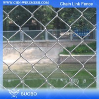 Hot Sale Aluminium Chain Link Fence, Rubber Coated Chain Link Fence, Paint Chain Link Fence Black