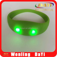 Sound activated led bracelet for party