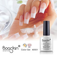 Popular custom logo gel nail german
