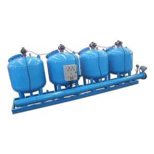 carbon steel sand filter/multi media filter/pressure filter tank in water treatment