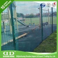 Green Fencing Mesh Perimeter Fence Protection