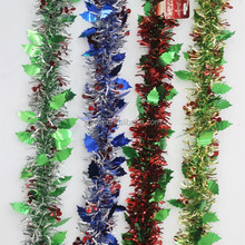 Fashion Decorative Christmas Tinsel Wreath For Family Party Ornament