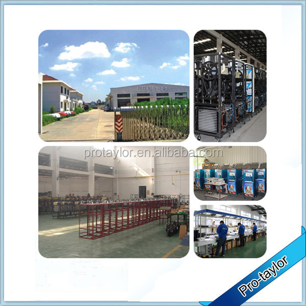 Trade assurance with 6 toppings roll ice cream machine