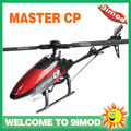 Walkera Master CP Flybarless rc helicopter W/O transmitter /bat/charger BNF