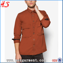Latest new style mens designer packet shirts for men pictures pant shirt