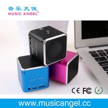 Music Angel JH-MD06 TF card cube bass peaker portable mp3 outdoor loud speaker alibaba.com in russian