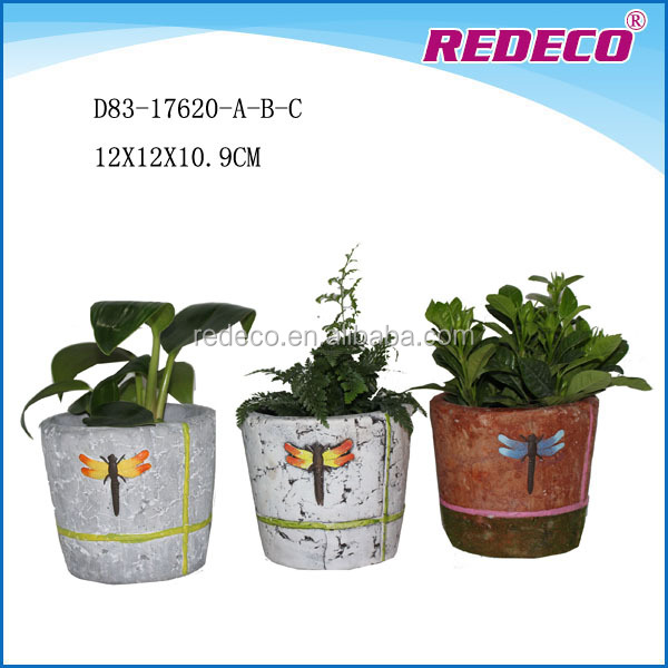 Wholesale small clay planter pots with cheap price
