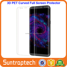 Full 3D Coverage HD Ultra Clear PET Film Curved Edge to Edge Screen Protector Film for Samsung Galaxy S8