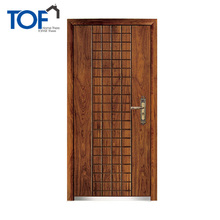 New style front armored door entrance door wood mdf for hotel