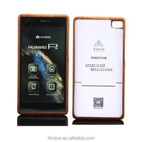 anti-radiation wood mobile phone bottom cover made in China