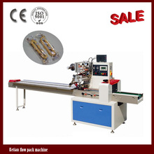 High speed hot dog bread machine for packing