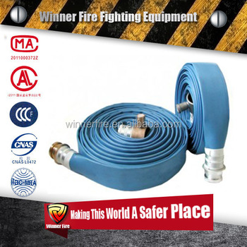 Blue color Water Hose fire hose rubber fire hose