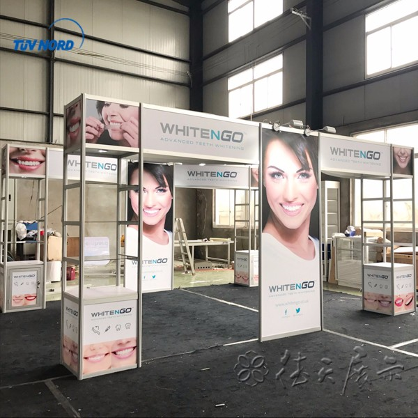 Practical exhibition booth equipment for trade show