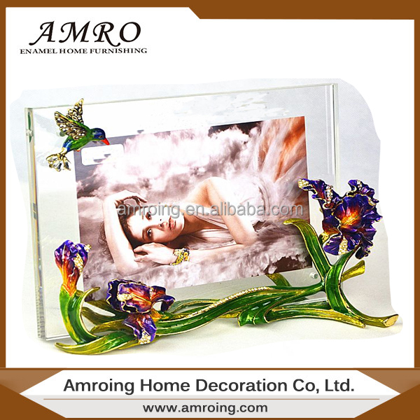 hot selling cheap Photo Frame Colorful Enamel Picture Frame Metal Photo Frame