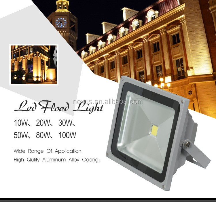 High Quality Portable waterproof IP65 aluminum 50w LED FloodLight