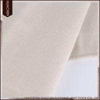 Good reputation factory price high-grade hotel blackout man-made silk fabric for door curtain