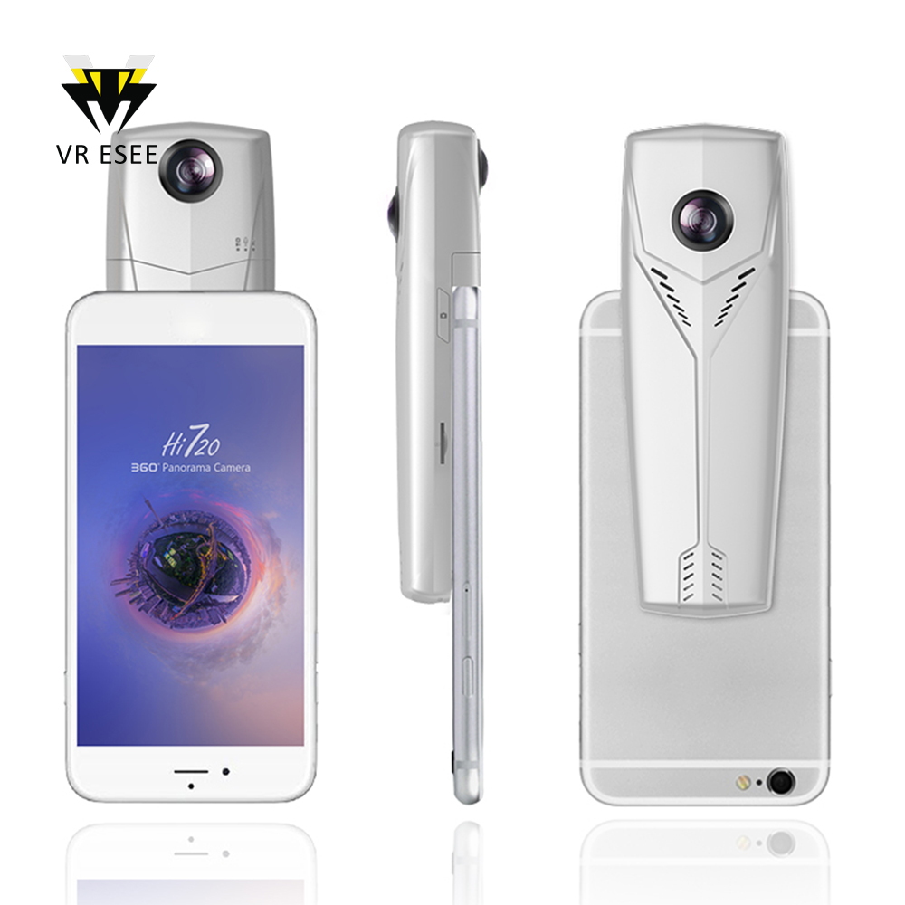 Hi720 Mini Wifi HD Camera Android IOS Mobile Phone VR 360 Degree Camera