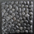 black mesh back cobble paving stone