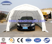 Customized PVC Coated Metal Garages and Carports