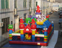 Giant inflatable playground, vinyl no lead inflatable bouncer castle, cheap inflatable amusement park with cheap price