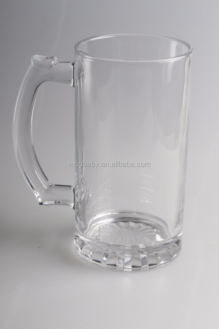 manufacturer drinking glass beer cup with handle buy. Black Bedroom Furniture Sets. Home Design Ideas