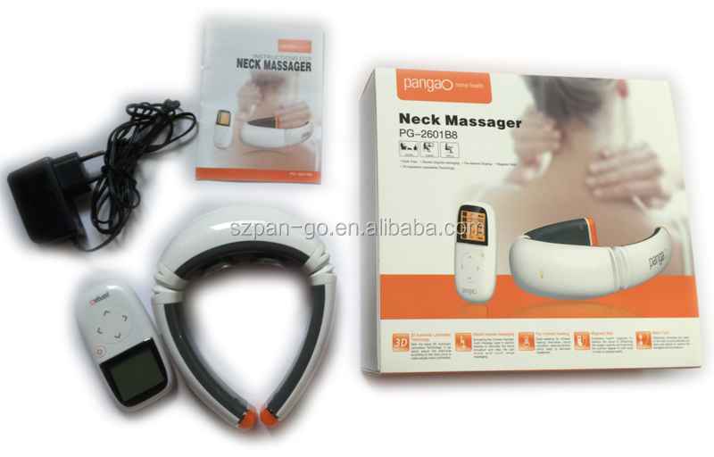Innovative New Products Healthcare Heat and TENS electric neck machine