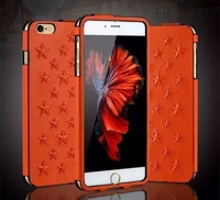 WUW Brand New Business Fashion Luxury Leather Cell Phone Case Vertical Pouch Back Cover For iPhone 6 6S 6plus CA1577