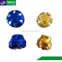 Colorful Modify China Motorcycle Spare Parts Front & Rear Motorcycle Wheel Axle Slider