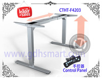 China manufacturer electric height adjustable Table Frame antique classic office electric desk