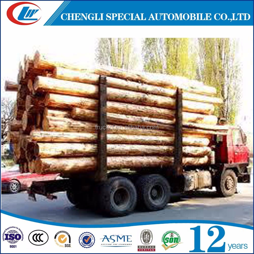 Promotional Howo log truck with loaders for sale in Fiji Forestry Bureau