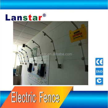 Intelligent electric fence energiser electric fence