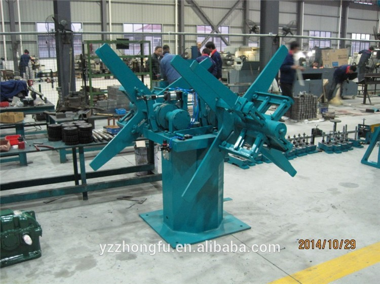 HG273 Automatic and High Efficiency concrete culvert pipe making machine