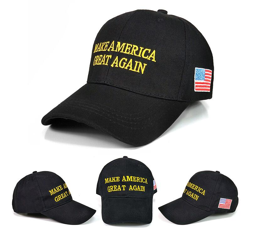 2017 Hot Selling 100% Cotton Custom Embroidery Summer Sport Hat Outdoor Promotional Baseball Cap Make America Great Again