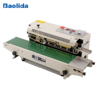 Multifunctional automatic continuous plastic film sealing machine