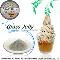 High Quality Grass Jelly Ice Cream