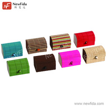 NewFida Eco-friendly Elegant Lovely High Quality Small Bamboo Box with Lid