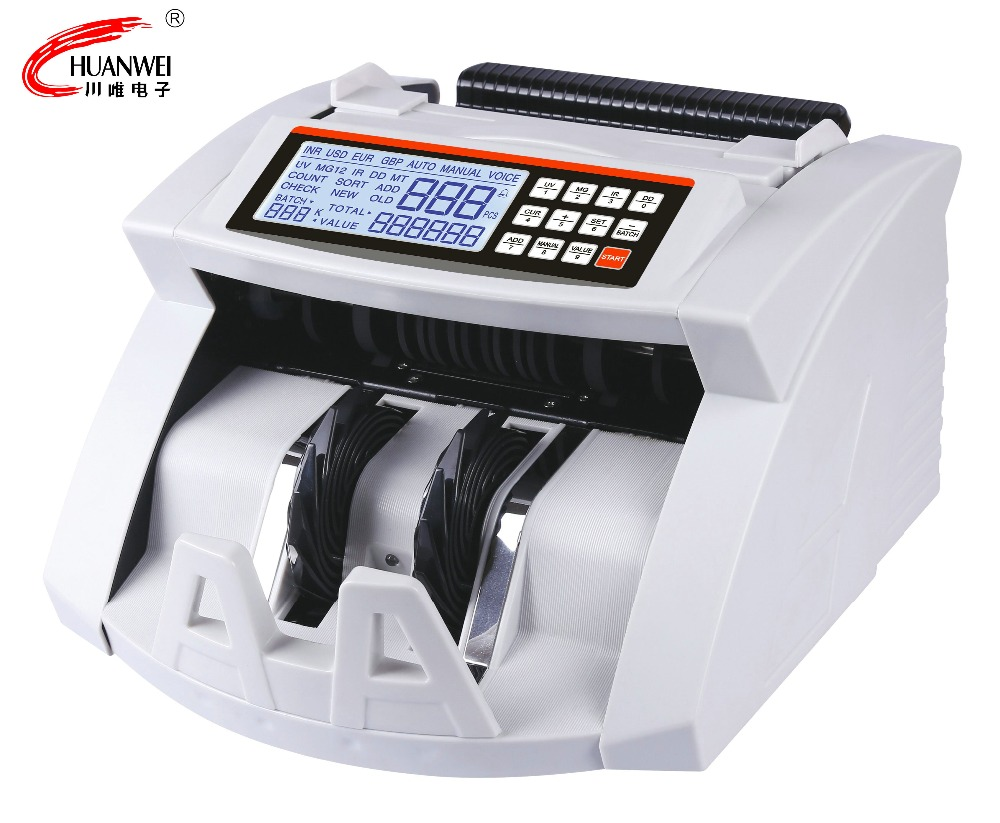 Russian Rubles Banking Equipment Currency Note Counting Machine