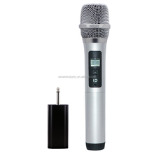 Selectable Frequencies Wireless Microphone UHF Dynamic Vocal Microphone