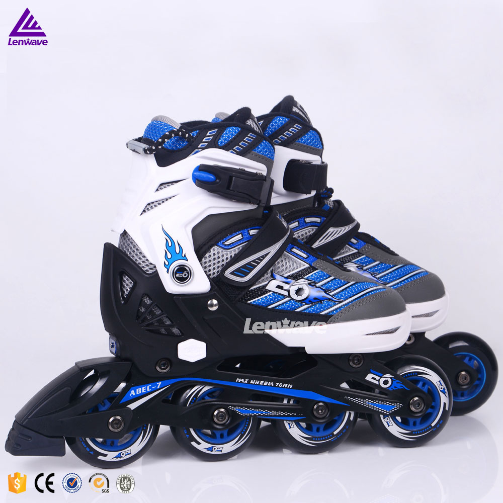 Top technology Swiss E6 brand fashion sports inline shate deluxe quad roller skates wholesale