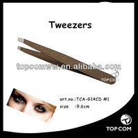 color coating wide grip tweezers