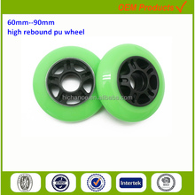 professional pu wheels factory for roller inline skate parts