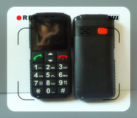 China made in stock easy use CE,ROHS big letters cell phone without camera telephone mobile