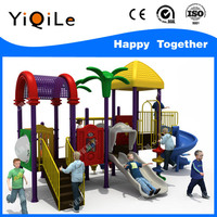 Outdoor cat playground plastic parts tube slide playground for plastic garden