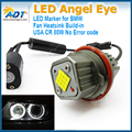 Xenon white LED Angel Eyes Fit For BMW E39 E60 E61 E63 E64 E65 E66 Halo Light Lamp