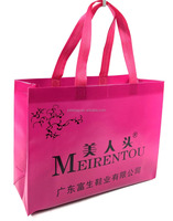 promotional tote bag ultrasonic welded non woven shopping bag