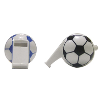 FOOTBALL plastic whistle for fans heat