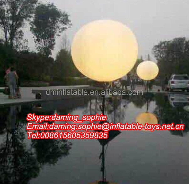 Air Filled exihibition Promotional Inflatable tripod balloon