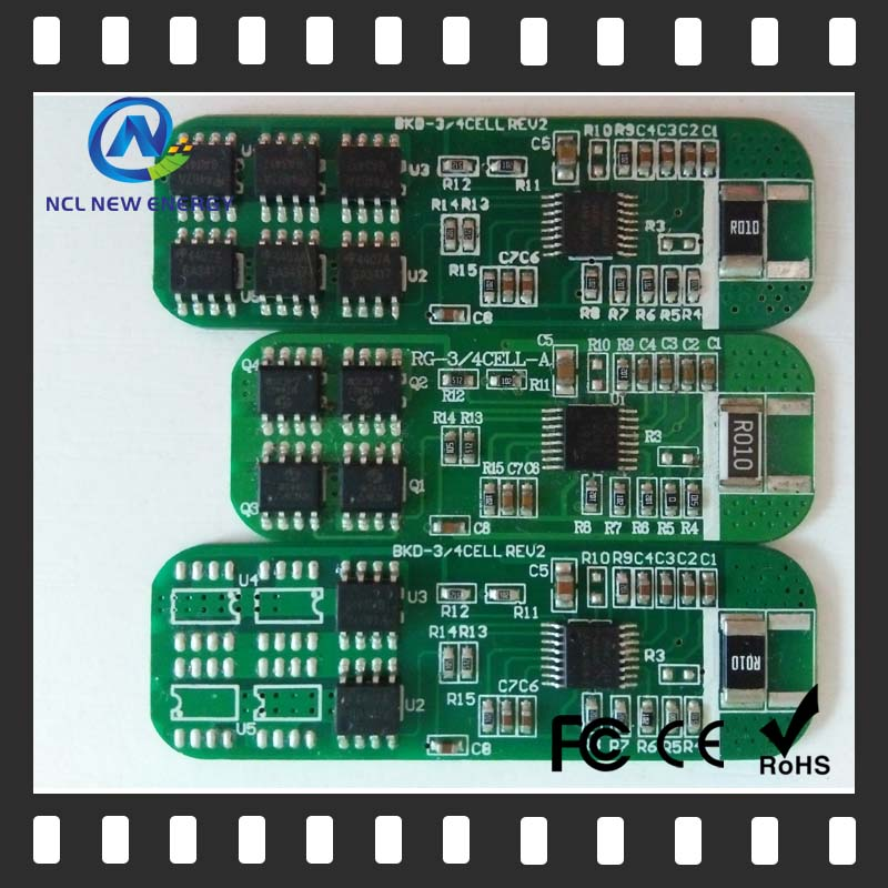 5s 10a bms/pcm 16v shenzhen smd pcb for lifepo4 battery pack